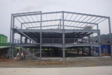 Hầu hết các chủ đầu tư hiện nay đều sử dụng thép làm vật liệu chủ yếu để xây dựng nhà xưởng.