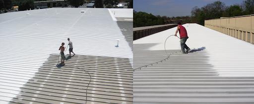 Dùng sơn để chống nóng cho mái tôn