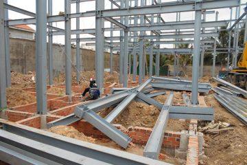 Công trình nhà khung thép tiền chế cần đảm bảo khả năng chịu lực tốt